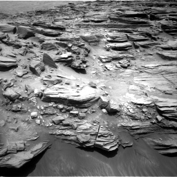 Nasa's Mars rover Curiosity acquired this image using its Right Navigation Camera on Sol 1053, at drive 2512, site number 48