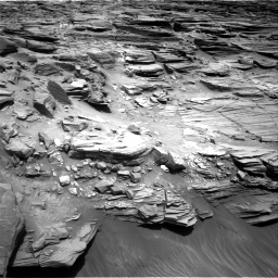 Nasa's Mars rover Curiosity acquired this image using its Right Navigation Camera on Sol 1056, at drive 2518, site number 48