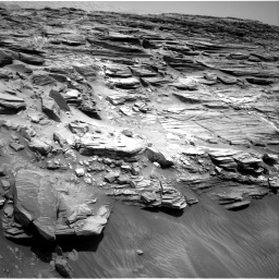 Nasa's Mars rover Curiosity acquired this image using its Right Navigation Camera on Sol 1056, at drive 2530, site number 48