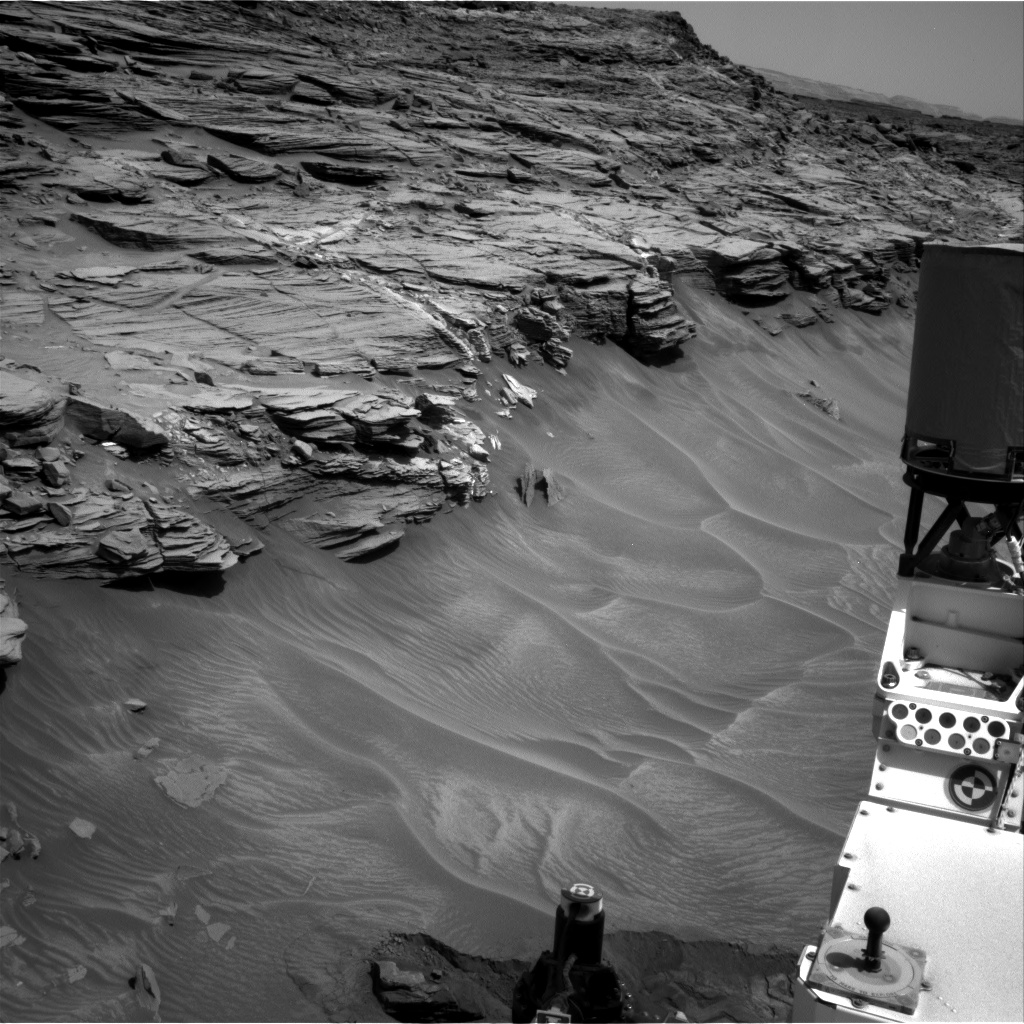 Nasa's Mars rover Curiosity acquired this image using its Right Navigation Camera on Sol 1056, at drive 2542, site number 48