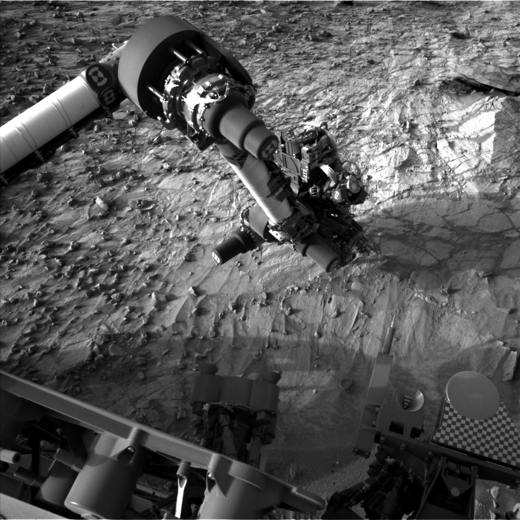 Nasa's Mars rover Curiosity acquired this image using its Left Navigation Camera on Sol 1057, at drive 2542, site number 48