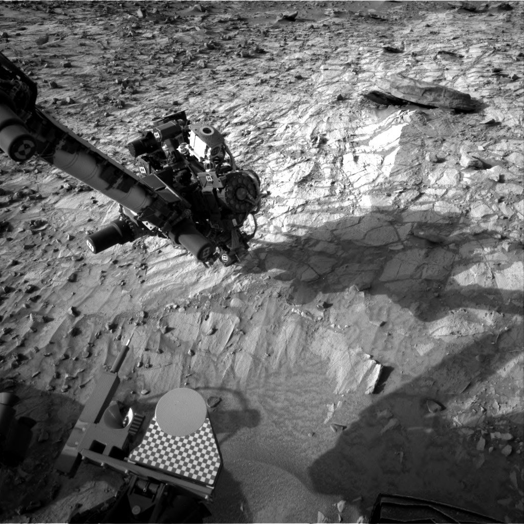 Nasa's Mars rover Curiosity acquired this image using its Right Navigation Camera on Sol 1057, at drive 2542, site number 48
