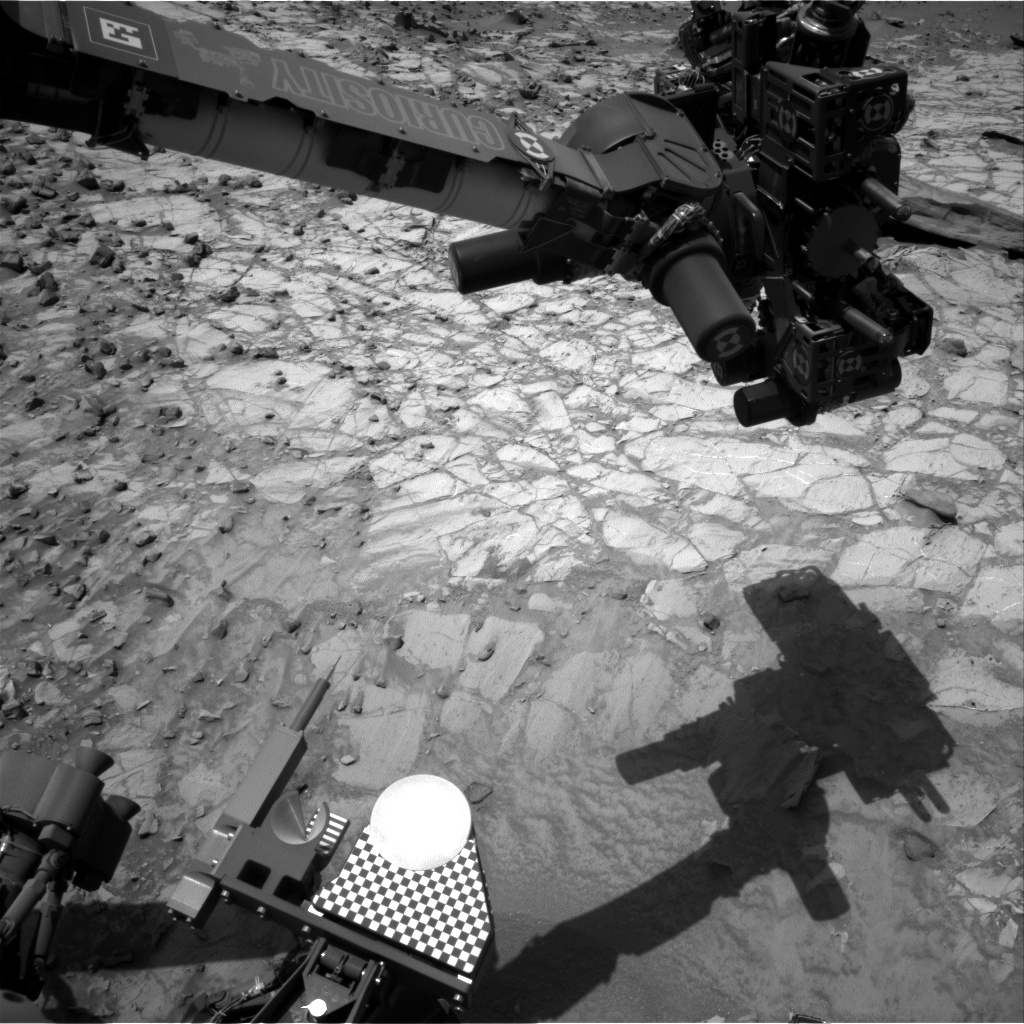 Nasa's Mars rover Curiosity acquired this image using its Right Navigation Camera on Sol 1059, at drive 2542, site number 48
