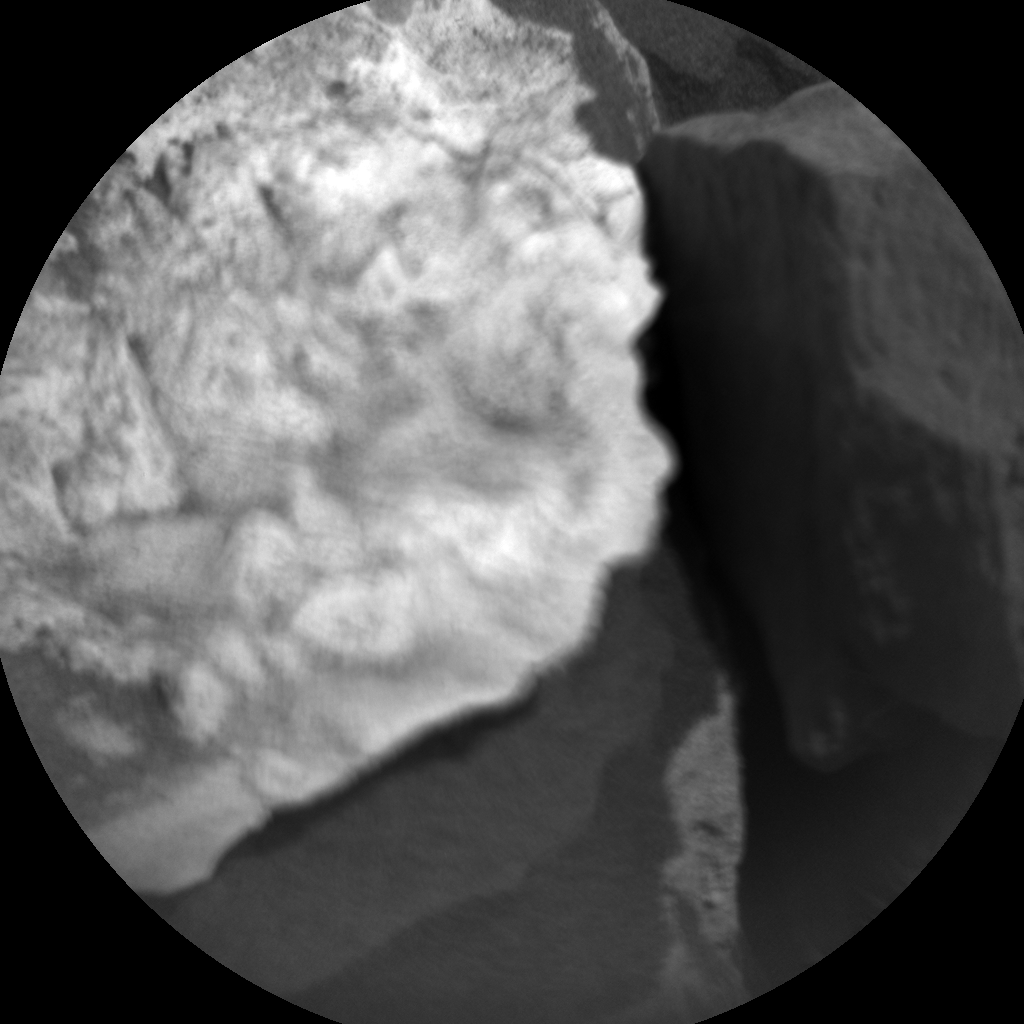 Nasa's Mars rover Curiosity acquired this image using its Chemistry & Camera (ChemCam) on Sol 1059, at drive 2542, site number 48