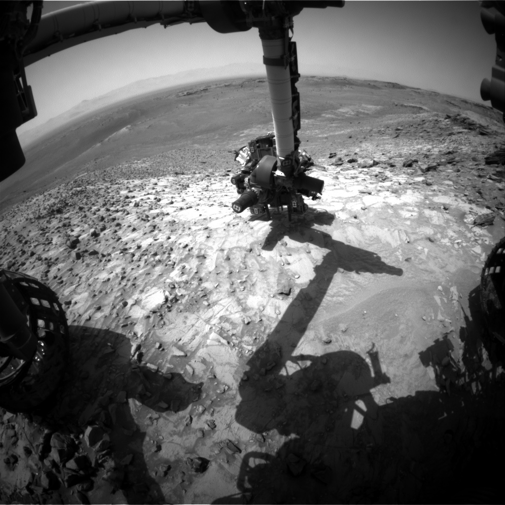 MSL Raw Image from Front Hazard Avoidance Cameras (Front Hazcams)