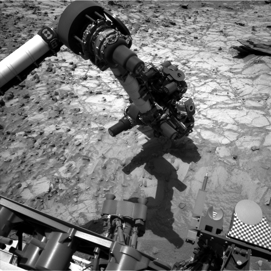 Nasa's Mars rover Curiosity acquired this image using its Left Navigation Camera on Sol 1060, at drive 2542, site number 48