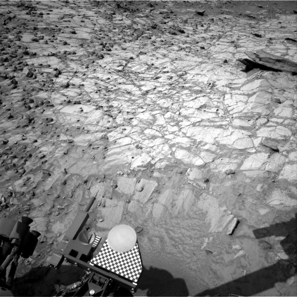 Nasa's Mars rover Curiosity acquired this image using its Right Navigation Camera on Sol 1060, at drive 2542, site number 48