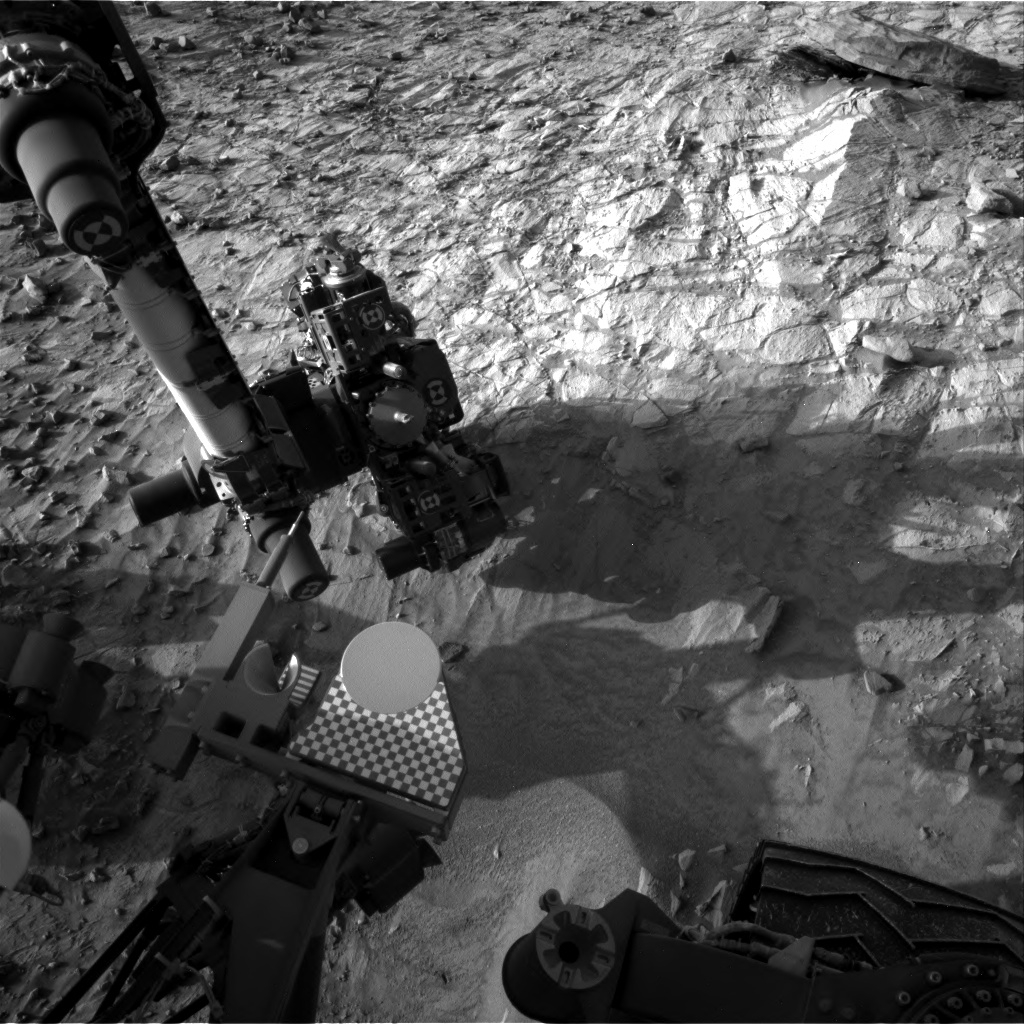 Nasa's Mars rover Curiosity acquired this image using its Right Navigation Camera on Sol 1061, at drive 2542, site number 48