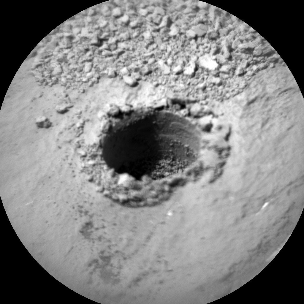 Nasa's Mars rover Curiosity acquired this image using its Chemistry & Camera (ChemCam) on Sol 1061, at drive 2542, site number 48