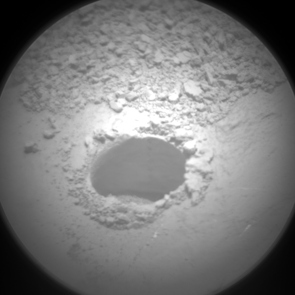 Nasa's Mars rover Curiosity acquired this image using its Chemistry & Camera (ChemCam) on Sol 1064, at drive 2542, site number 48