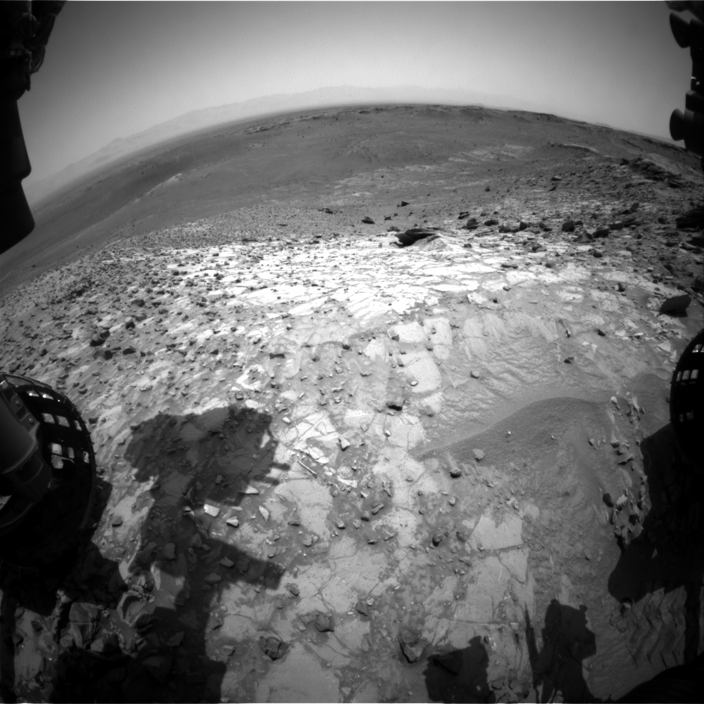 Nasa's Mars rover Curiosity acquired this image using its Front Hazard Avoidance Camera (Front Hazcam) on Sol 1064, at drive 2542, site number 48