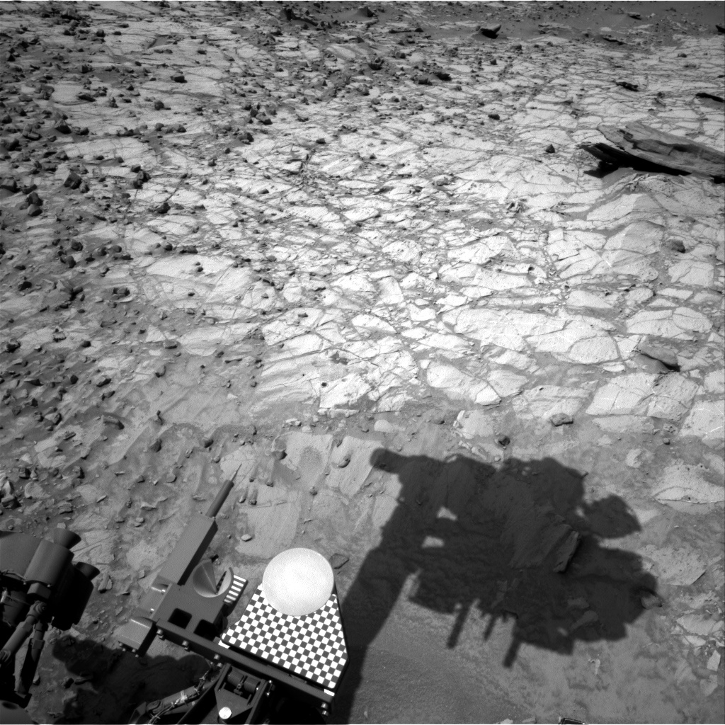 Nasa's Mars rover Curiosity acquired this image using its Right Navigation Camera on Sol 1064, at drive 2542, site number 48