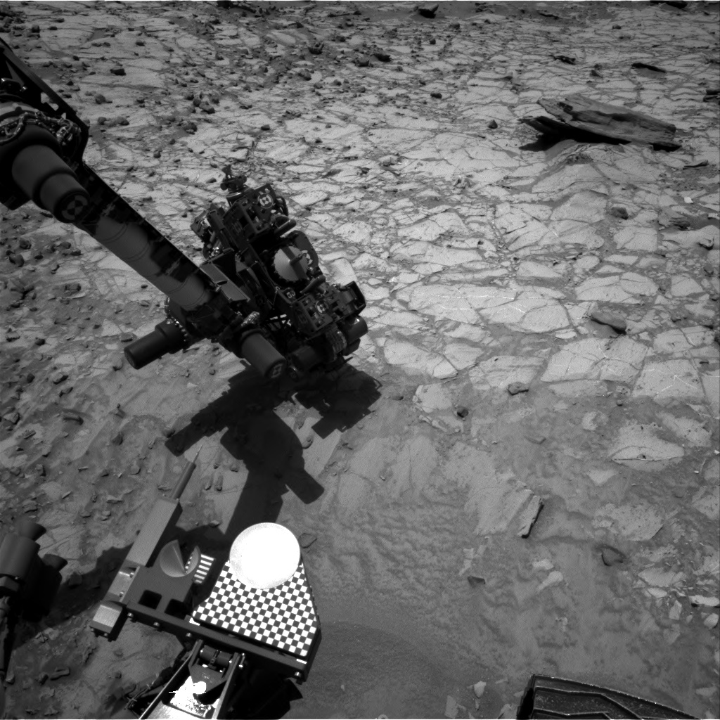 Nasa's Mars rover Curiosity acquired this image using its Right Navigation Camera on Sol 1065, at drive 2542, site number 48