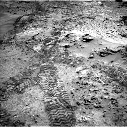 Nasa's Mars rover Curiosity acquired this image using its Left Navigation Camera on Sol 1066, at drive 2590, site number 48