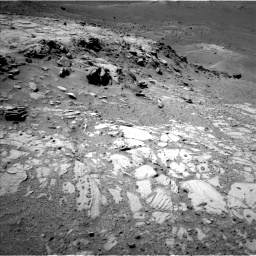 Nasa's Mars rover Curiosity acquired this image using its Left Navigation Camera on Sol 1066, at drive 2728, site number 48