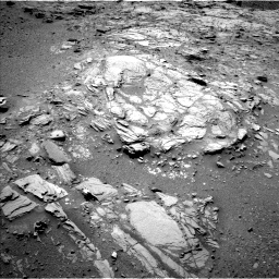 Nasa's Mars rover Curiosity acquired this image using its Left Navigation Camera on Sol 1066, at drive 2752, site number 48
