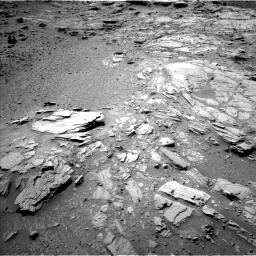Nasa's Mars rover Curiosity acquired this image using its Left Navigation Camera on Sol 1066, at drive 2764, site number 48