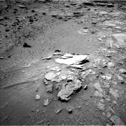 Nasa's Mars rover Curiosity acquired this image using its Left Navigation Camera on Sol 1066, at drive 2770, site number 48