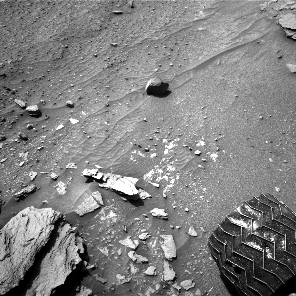 Nasa's Mars rover Curiosity acquired this image using its Left Navigation Camera on Sol 1066, at drive 2794, site number 48