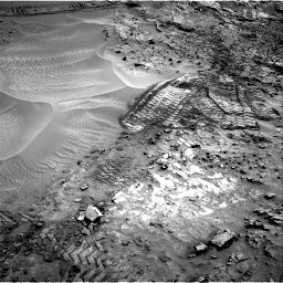 Nasa's Mars rover Curiosity acquired this image using its Right Navigation Camera on Sol 1066, at drive 2626, site number 48