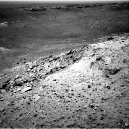 Nasa's Mars rover Curiosity acquired this image using its Right Navigation Camera on Sol 1066, at drive 2674, site number 48