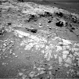 Nasa's Mars rover Curiosity acquired this image using its Right Navigation Camera on Sol 1066, at drive 2734, site number 48