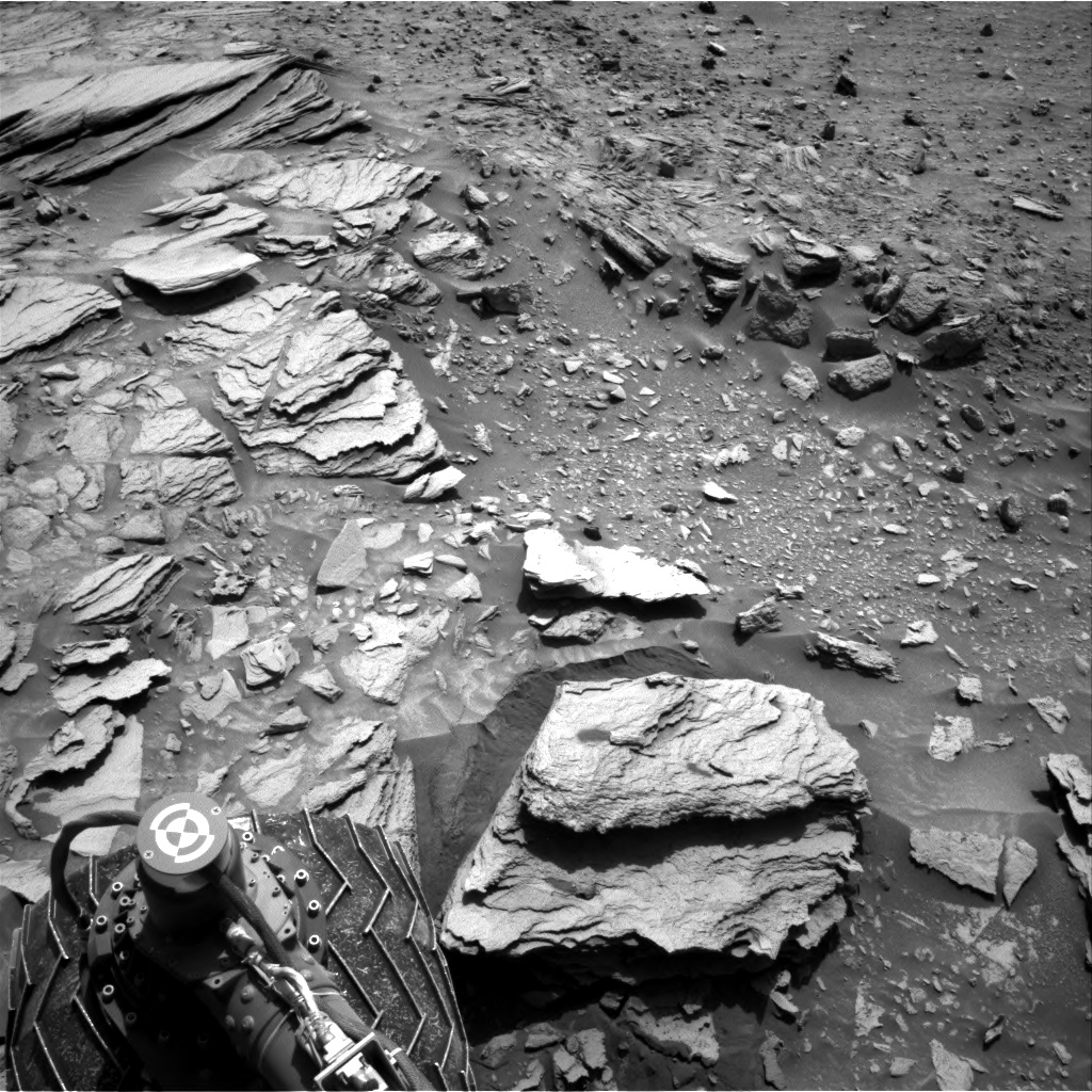 Nasa's Mars rover Curiosity acquired this image using its Right Navigation Camera on Sol 1066, at drive 2794, site number 48