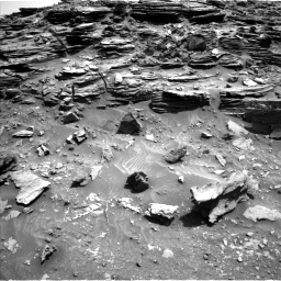 Nasa's Mars rover Curiosity acquired this image using its Left Navigation Camera on Sol 1067, at drive 2854, site number 48