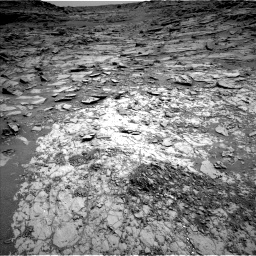 Nasa's Mars rover Curiosity acquired this image using its Left Navigation Camera on Sol 1067, at drive 2950, site number 48