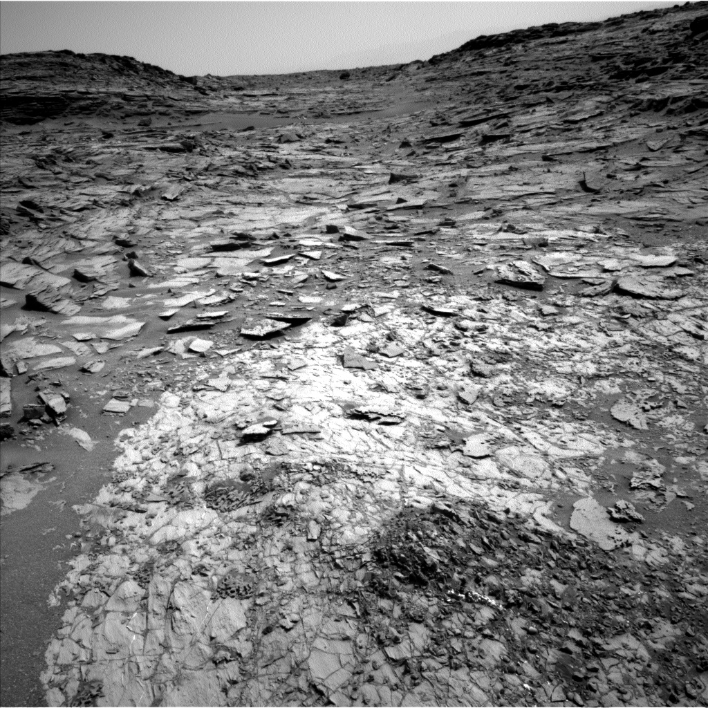 Nasa's Mars rover Curiosity acquired this image using its Left Navigation Camera on Sol 1067, at drive 0, site number 49