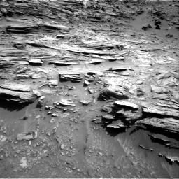Nasa's Mars rover Curiosity acquired this image using its Right Navigation Camera on Sol 1067, at drive 2818, site number 48