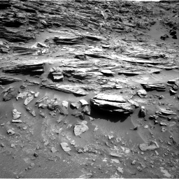 Nasa's Mars rover Curiosity acquired this image using its Right Navigation Camera on Sol 1067, at drive 2830, site number 48