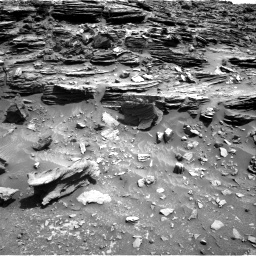 Nasa's Mars rover Curiosity acquired this image using its Right Navigation Camera on Sol 1067, at drive 2848, site number 48