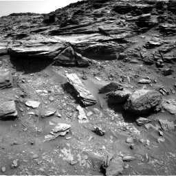 Nasa's Mars rover Curiosity acquired this image using its Right Navigation Camera on Sol 1067, at drive 2872, site number 48