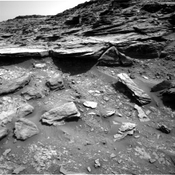 Nasa's Mars rover Curiosity acquired this image using its Right Navigation Camera on Sol 1067, at drive 2878, site number 48