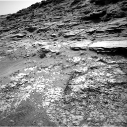 Nasa's Mars rover Curiosity acquired this image using its Right Navigation Camera on Sol 1067, at drive 2920, site number 48
