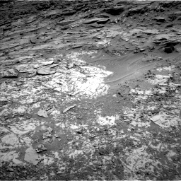 Nasa's Mars rover Curiosity acquired this image using its Left Navigation Camera on Sol 1072, at drive 12, site number 49
