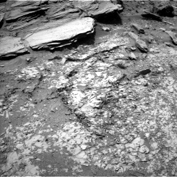 NASA's Mars rover Curiosity acquired this image using its Left Navigation Camera (Navcams) on Sol 1072