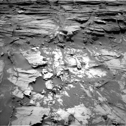 Nasa's Mars rover Curiosity acquired this image using its Left Navigation Camera on Sol 1072, at drive 126, site number 49
