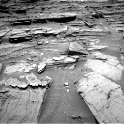 Nasa's Mars rover Curiosity acquired this image using its Left Navigation Camera on Sol 1072, at drive 156, site number 49