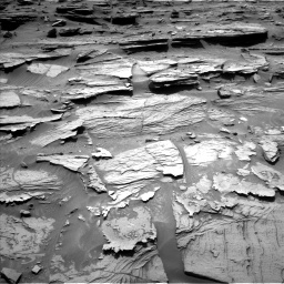 Nasa's Mars rover Curiosity acquired this image using its Left Navigation Camera on Sol 1072, at drive 168, site number 49