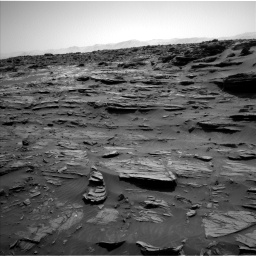 Nasa's Mars rover Curiosity acquired this image using its Left Navigation Camera on Sol 1072, at drive 198, site number 49