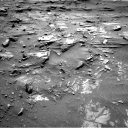 Nasa's Mars rover Curiosity acquired this image using its Left Navigation Camera on Sol 1072, at drive 228, site number 49