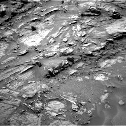 Nasa's Mars rover Curiosity acquired this image using its Left Navigation Camera on Sol 1072, at drive 264, site number 49