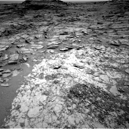 Nasa's Mars rover Curiosity acquired this image using its Right Navigation Camera on Sol 1072, at drive 0, site number 49