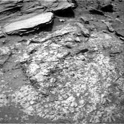 Nasa's Mars rover Curiosity acquired this image using its Right Navigation Camera on Sol 1072, at drive 36, site number 49
