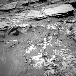 Nasa's Mars rover Curiosity acquired this image using its Right Navigation Camera on Sol 1072, at drive 48, site number 49