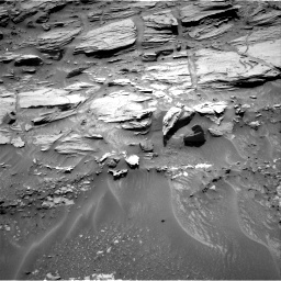 Nasa's Mars rover Curiosity acquired this image using its Right Navigation Camera on Sol 1072, at drive 60, site number 49