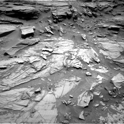 Nasa's Mars rover Curiosity acquired this image using its Right Navigation Camera on Sol 1072, at drive 78, site number 49