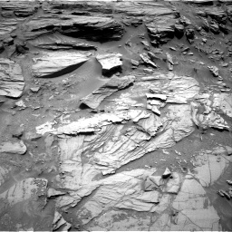 Nasa's Mars rover Curiosity acquired this image using its Right Navigation Camera on Sol 1072, at drive 84, site number 49